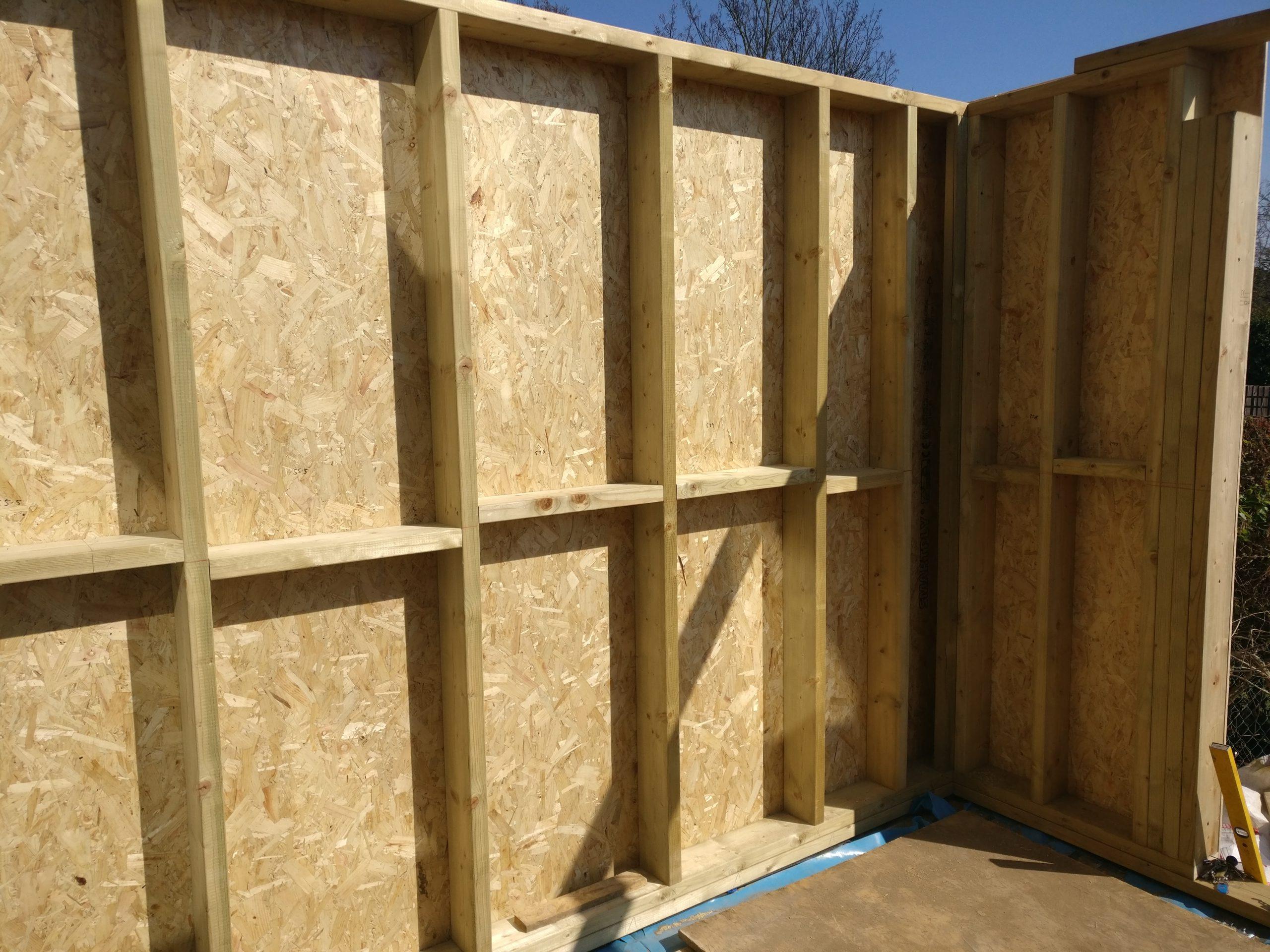 Timber framing in Ipswich Suffolk